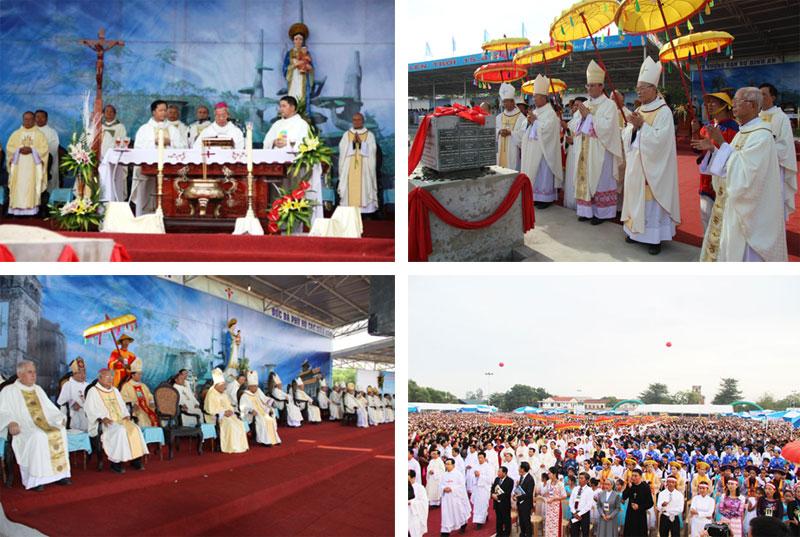 Lễ đặt viên đá đầu tiên xây dựng vương cung thánh đường