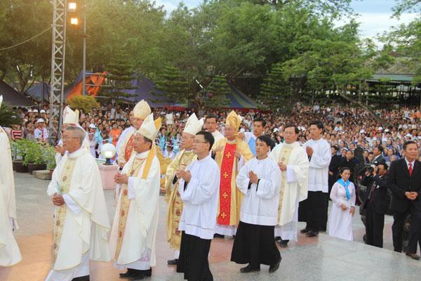 Lễ Đại Triều mừng kính trọng thể Mẹ Lên Trời tại La Vang. 67