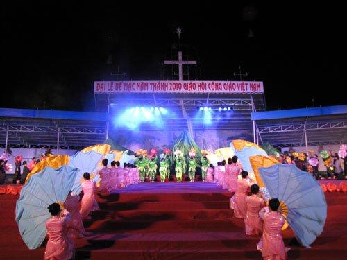 Diễn nguyện đêm đại hội la vang 29