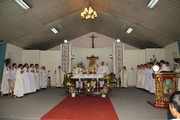 lễ tại nhà nguyện la vang
